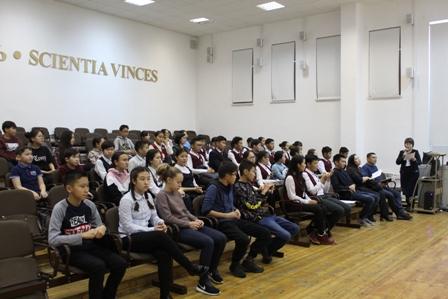 Родительский портал Якутска -  В Малой академии наук проходит республиканская научная школа-семинар «Атмосфера науки»